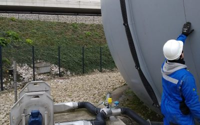 Service contracts on biogas units in the Paris region