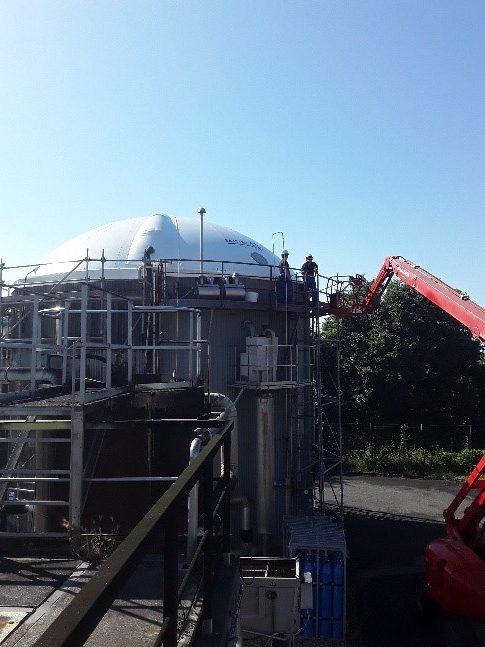 News récente sur la reprise des chantiers biogaz en France après déconfinement :