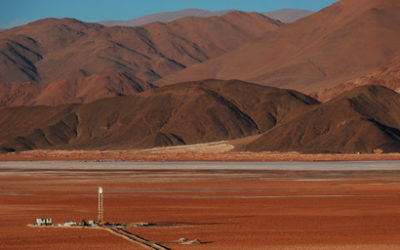 Cooperation with Eramet in Argentina at the Salta mining site