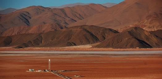 Cooperation with Eramet in Argentina at the Salta mining site