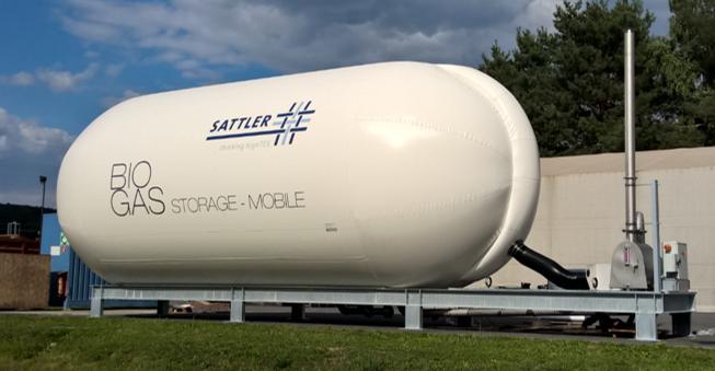 Unité mobile biogaz Sattler